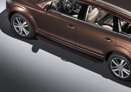 Пороги алюминиевые Premium-Black Rival Audi Q7/Volkswagen Touareg 10-18, A193ALB.5801.3