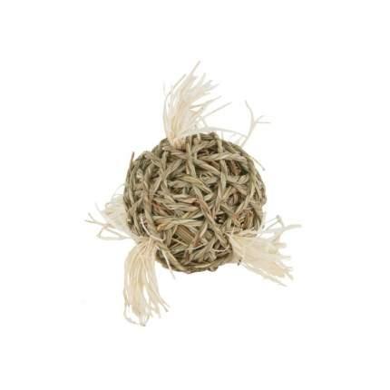Игрушка для грызунов Fauna International Мяч с хвостиками, 10 см
