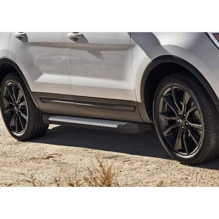"Пороги на автомобиль ""Bmw-Style круг"" Rival Ford Explorer V 2010-2019, D193AL.1802.1"