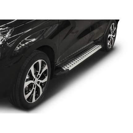 "Пороги на авто ""Bmw-Style круг"" RIVAL для Lada Xray 2015-н.в. 173 см, 2 шт. D173AL.6002.1"