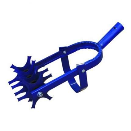 Культиватор ротационный со звездочками без черенка (Синий)