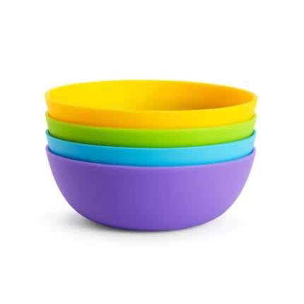 Набор детских цветных мисок Munchkin 4шт. 6м+