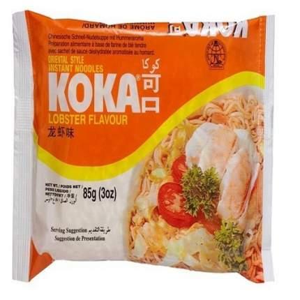 Лапша сингапурская Koka со вкусом лобстера в пакете 85 г