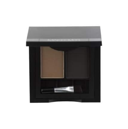 Двойные тени для бровей Makeover Paris Perfect Brow Duo Dark Brown