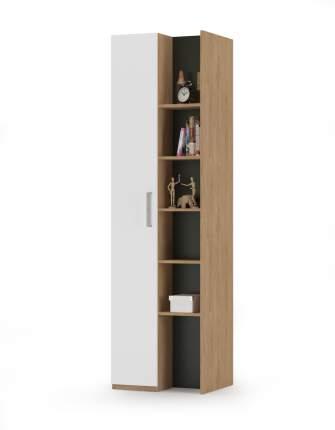 Шкаф Mobi Гравити 10.08 гикори рокфорд натуральный/чёрный/белый, 58,4х49,9х210,3 см