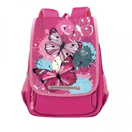 Школьный рюкзак Grizzly для девочки RAk-090-1 розовый