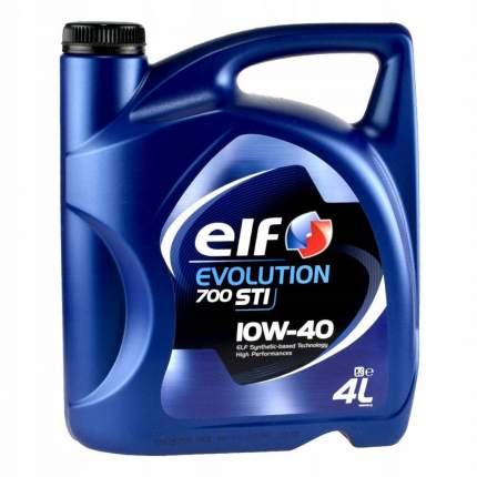 ELF Моторное масло Полусинтетическое Evolution 700 Sti 10w-40 4л Cf/Sl