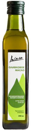Оливковое масло La Casa нерафинированное высшего качества 250 мл