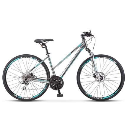 "Велосипед Stels Cross-150 D Lady 28' V010 2019 18"" хром"