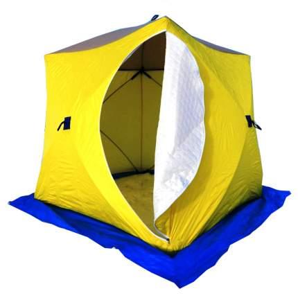 Палатка для рыбалки Стэк Куб трехместная разноцветная