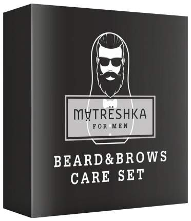 Набор средств для бровей и бороды Matreshka SPA