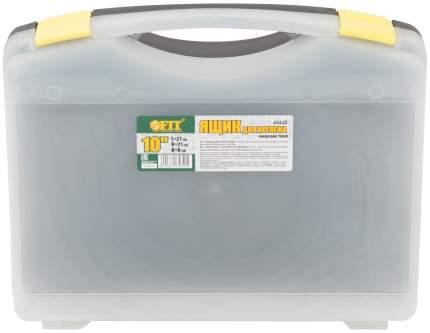 "Ящик для крепежа (органайзер) прозрачный 10,5"" FIT 65642"