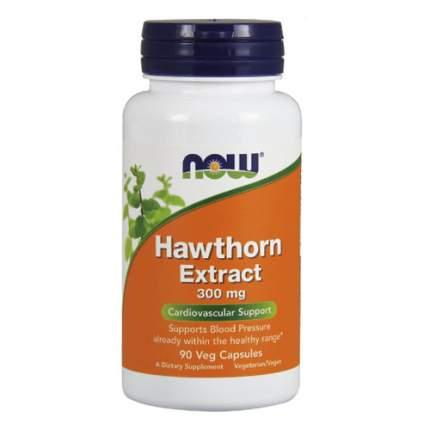 NOW Hawthorn Extract 300 мг (90 капсул) - экстракт боярышника для улучшения работы сердца