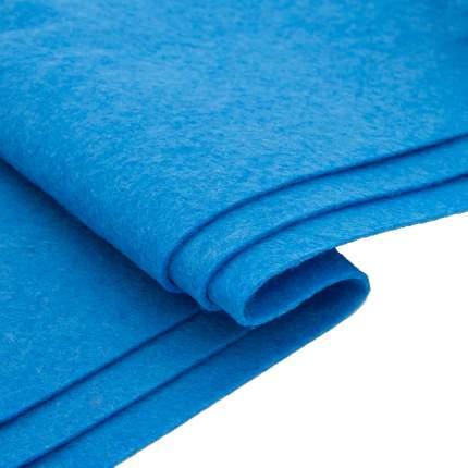 Фетр, голубой, A4, 10 листов Астра Креатив