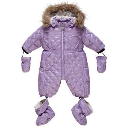 Комбинезон зимний Chicco фиолетовый р.62