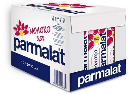 Молоко Parmalat ультрапастеризованное 3.5% 1 л 12 шт