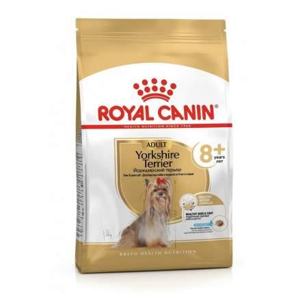 Сухой корм для собак ROYAL CANIN Yorkshire Terrier Adult 8+, мясо,  1,5кг