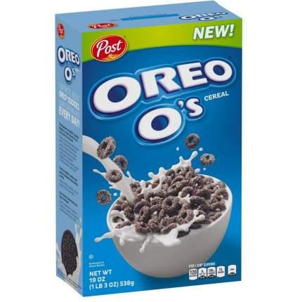 Готовый завтрак Post  Oreo O's Cereal колечки 311г