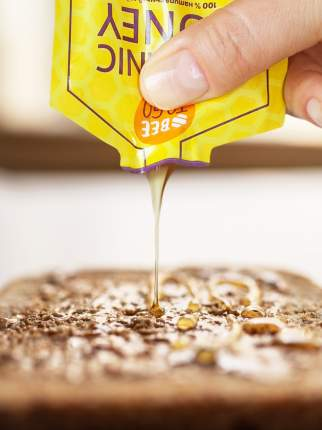 Мед натуральный порционный Beetogo mix 5 сортов по 3 шт по 15 г
