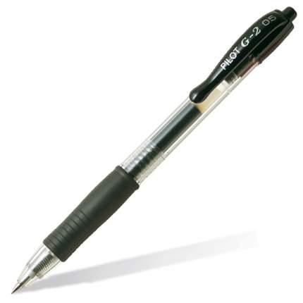 Ручка гелевая PILOT G2 черная 0,5мм (1 штука)