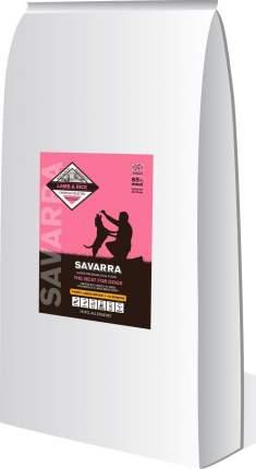 Сухой корм для щенков Savarra Puppy Large Breed, для крупных пород, ягненок и рис, 18кг