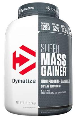Гейнер Dymatize Super Mass Gainer (шоколад), 2724 г