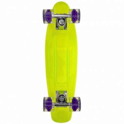 "Пенни борд Sunset Alien 22"" deck green/wheels blacklght"