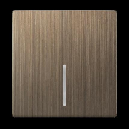Клавиша для выключателя c подсветкой Werkel WL12-SW-1G-LED-CP