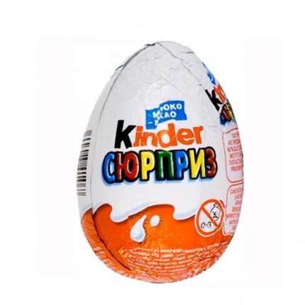 Яйцо с игрушкой Kinder Сюрприз в ассортименте 20 г