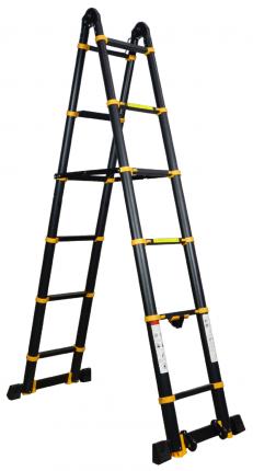 Лестница-трансформер телескопическая Raybe RM500 5,0 м