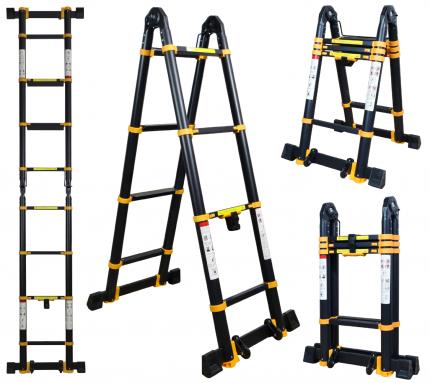 Лестница-трансформер телескопическая Raybe RM340 3,4 м