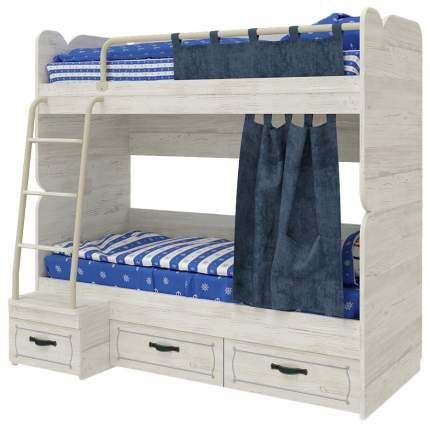 Детская кровать двухъярусная Сканд-Мебель Регата