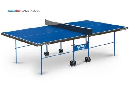 Теннисный стол Start Line Game Indoor синий, с сеткой