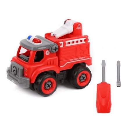 Конструктор-скрутка Пожарная Машина,