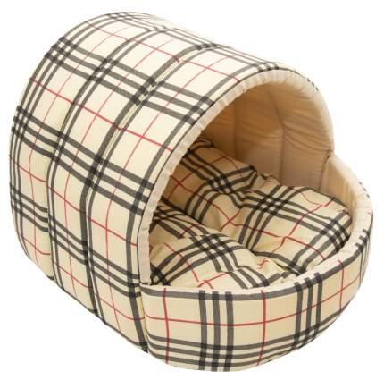 Домик для кошек и собак Великий Кот Клетка, бежевый, 41x36x30см