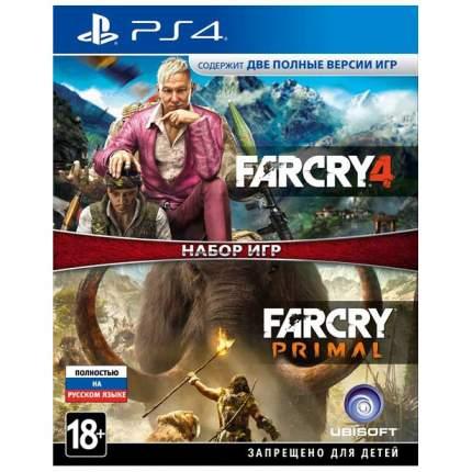 Игра Far Cry 4+Far Cry Primal для PlayStation 4