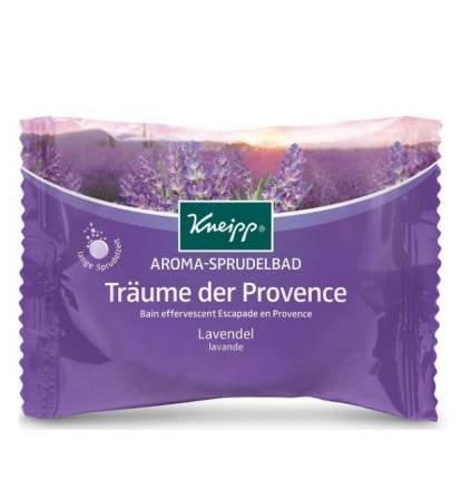 Соль для ванн с Kneipp Лавандой шипучие таблетки