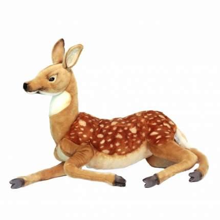 Мягкая игрушка Hansa Олененок лежащий, 70 см