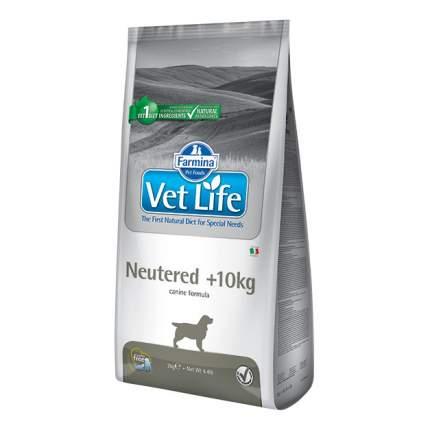 Сухой корм для собак Farmina Vet Life Neutered, для стерилизованных, курица, 12кг