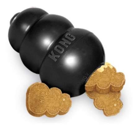 Игрушка для лакомств для собак KONG Extreme L, черная, 10х6 см
