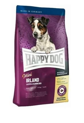 Сухой корм для собак Happy Dog Supreme Mini Irland, для мелких пород, кролик, лосось,0,3кг