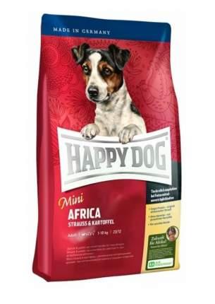 Сухой корм для собак Happy Dog Supreme Mini Africa, мелкие породы, страус, картофель,0,3кг
