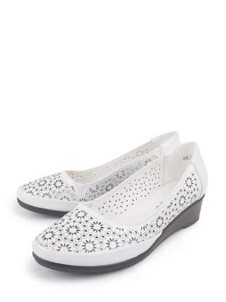 Туфли женские BERTEN BSL 19-44 белые 39 RU