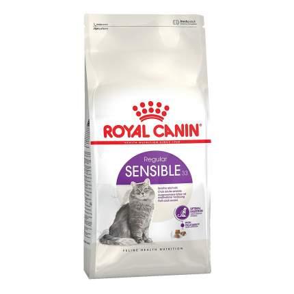 Сухой корм для кошек ROYAL CANIN Sensible 33, при чувствительном пищеварении, 15кг
