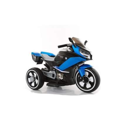 Мотоцикл трехколесный Наша Игрушка черно-голубой