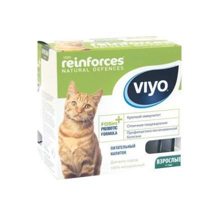 Напиток пребиотический для взрослых кошек Viyo Reinforces Cat Adult, 30 мл