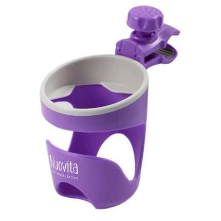 Подстаканник для коляски Nuovita Tengo Lux пурпурный