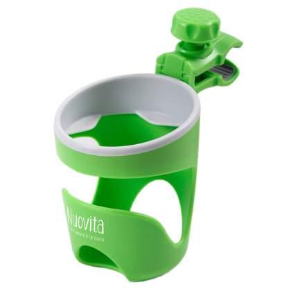 Подстаканник для коляски Nuovita Tengo Lux зеленый