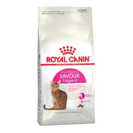 Сухой корм для кошек ROYAL CANIN Savour Exigent, для привередливых к вкусу, 10кг