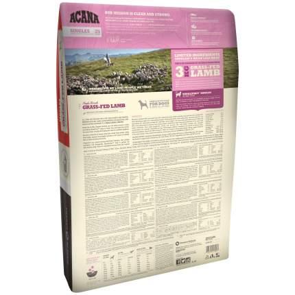 Сухой корм для собак ACANA Singles Grass-Fed Lamb, ягненок, 11,4кг
